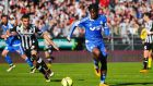 West Ham have reportedly bid €40 million for Marseille striker Michy Batshuayi. Photograph: Getty
