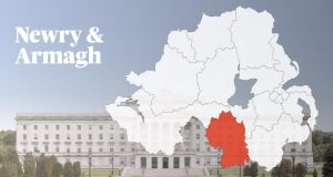 NEWRY AND ARMAGH CANDIDATES: Paul Berry (Ind); Cathal Boylan (Sinn Féin); Emmet Crossan (CISTA); Megan Fearon (Sinn Féin); William Irwin (DUP); Danny Kennedy (UUP); Alan Love (UKIP); Martin McAllister (Ind); Karen McKevitt (SDLP); Justin McNulty (SDLP); Conor Murphy (Sinn Féin); Sam Nicholson (UUP); Craig Weir (Alliance); Michael Waters (Greens).