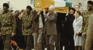 The funeral of Bobby Sands. Photograph: Getty Images