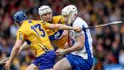 Clare and Waterford meet again on Sunday. The game is now being played with defence, possession and optimum use of the sliotar as a priority. Photograph: Ryan Byrne/Inpho
