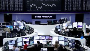 Germany's Dax: rose 0.2 per cent, while in France the Cac 40 fell 0.3 per cent. Photograph: Reuters/Staff/Remote