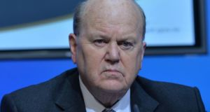 "Michael Noonan: would favour putting ""money in the pockets of purchasers rather than in the pockets of builders"". Photograph: Alan Betson / The Irish Times"