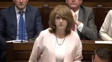 Joan Burton: 'this new government arrangement is a charade'