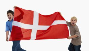 Happy out: Denmark is time and again voted the world's happiest nation. Photograph: Moment/Tetra/Getty