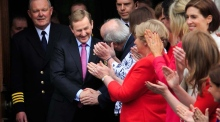 Enda Kenny re-elected as Taoiseach to the 32nd Dail