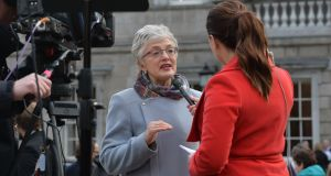 Indpendent TD Katherine Zappone is now seeing her preferred model of childcare, that is, direct payments to childcare providers, being implemented.Photograph: Alan Betson / The Irish Times