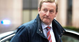 Taoiseach Enda Kenny:  Once again at ease with himself and back in power. Photograph: AFP