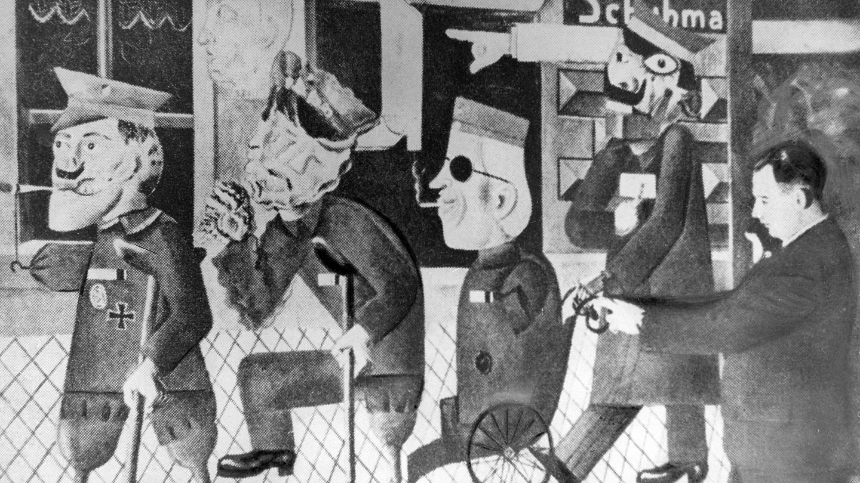 Préférence Otto Dix, artist on the front line DK58