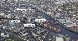 Custom House Quay is close to One Albert Quay offices and recently bought Clarion Hotel on Lapps Quay