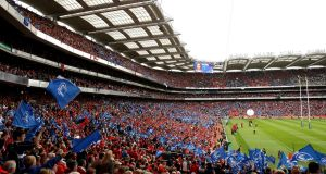 The  Heineken Cup semi-final between Munster and Leinster at Croke Park for in 2009. Photograph: James Crombie/Inpho
