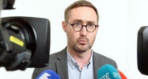 Dublin Mid-West TD Eoin Ó Broin said measures introduced by the last government to halt excessive rent increases had failed and rents are now higher than they were at the peak of the Celtic Tiger. Photograph: Eric Luke / The Irish Times