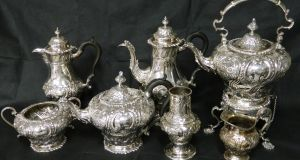 Danske Bank's collection of antique silver is expected to fetch up to €20,000