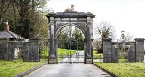 Callaghan's Gate, the iconic stone arch at the entrance to the long and winding drive that leads to the house