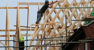 Construction in Ireland: 'Larger companies building thousands of homes could realise economies of scale, pushing down on costs.' Photograph: Rui Vieira/PA Wire