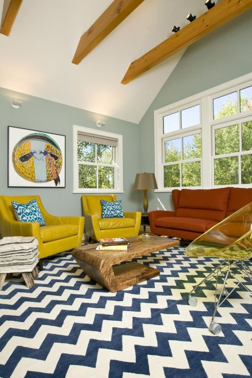 This Vibrant Family Room Is By Wyoming Based Grace Home Design This Is Big