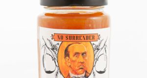 Carson's No Surrender Ulster Marmalade: art you can eat, made with the Irish Countrywomen's Association.