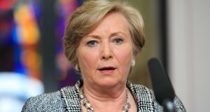"Tánaiste and Minister for Justice Frances Fitzgerald described abortion as a ""very live issue"" adding however that none of the recommendations made was ""possible under the current regulation of constitutional and statute law"". Photograph: Gareth Chaney Collins"
