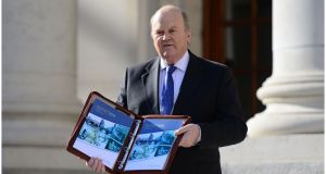 Minister for Finance Michael Noonan:  quick to point out that investors were happy to buy on the basis of the new Government and its programme. Photograph: Bryan O'Brien