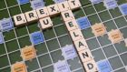 A scrabble board spells out Brexit in Dublin,. Photograph: Clodagh Kilcoyne/Reuters