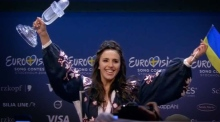 Jamala meets the press after winning Eurovision for Ukraine