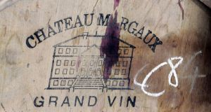 Alter Ego de Palmer, the second wine of Margaux estate Chateau Palmer, was priced at €44 a bottle, up 14.3 per cent from 2014, according to Liv-ex. (Photograph: Caroline Blumberg/Bloomberg)