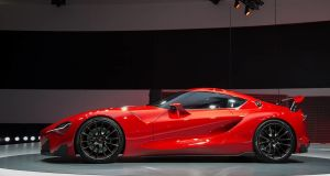 Toyota's FT1 concept, which showcases the firm's new Supra