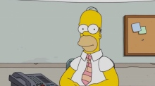 Live from Springfield: Homer Simpson answers viewers's questions