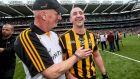 Brian Cody and Eoin Larkin: the James Stephens player has won eight All-Ireland medals and is one of Kilkenny's most trusted lieutenants. Photograph: James Crombie/Inpho