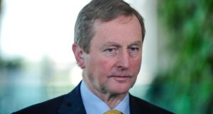 Enda Kenny: change of leader by Fine Gael would introduce element of instability into  political equation. Photograph: Aidan Crawley/Bloomberg