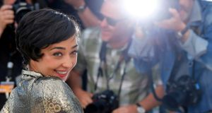 Limerick-raised Ruth Negga poses during a photocall for the film Loving in competition at the 69th Cannes Film Festival. Photograph: Jean-Paul Pelissier/Reuters.