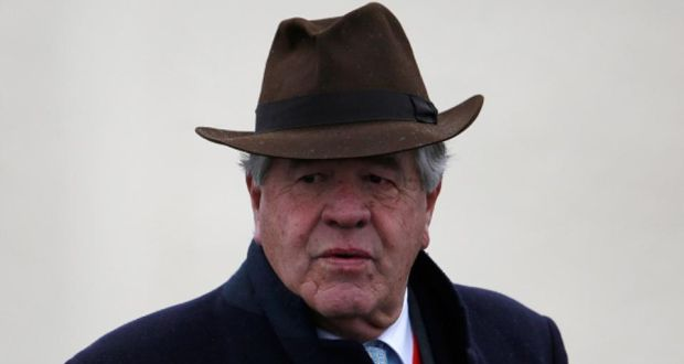 Michael stoute's midterm is a doubt for the epsom derby. photograph: getty