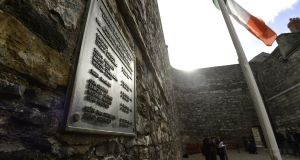 Kilmainham Gaol has been named the top landmark to visit in Ireland for the fourth year running in the TripAdvisor travellers' choice awards.  File photograph: Cyril Byrne/The Irish Times