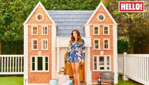 The problem with playhouses: The latest issue of Hello magazine shows Tamara Ecclestone showing off her daughter's palatial playhouse, which is a replica of Ecclestone's 57-room Kensington mansion. But what happens when it overlooks the neighbour's property? Photograph: Hello! Magazine/PA