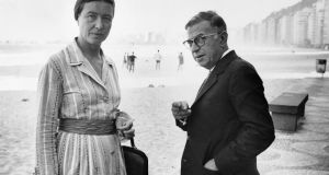 Simone de Beauvoir and Jean-Paul Sartre: giants of 20th-century philosophy. Photograph: STF/AFP/Getty