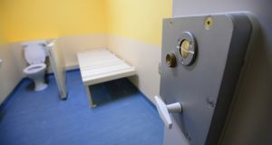 The great majority of young men and women remanded to Irish prisons while actively unwell with diagnoses of severe and enduring mental illnesses  have fallen through the net of a public mental health system which is not designed to meet their needs.  09/12/2015 - NEWS / Archive File photo of interior of cell in D Wing Mountjoy Prison . Keywords: crime solitary confinement lockdown lock down criminalPhotograph: Bryan O'Brien / The Irish Times