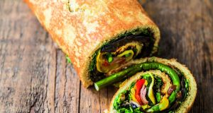 The Happy Pear Savoury Swiss Roll