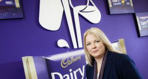 Having worked in the food industry for 25 years, Louise Stigant took over as managing director of Cadbury owner Mondelez Ireland last year. Cadbury has a long tradition in Ireland, having built its first Irish factory in Dublin in 1933. Mondelez now employs 750 people across three sites in Ireland.  (Photograph: Iain White/Fennell Photography)