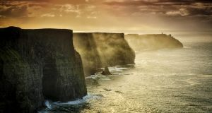 Cliffs of Moher: one of Ireland's top tourist attractions. Photograph: Matjaz Boncina/Getty