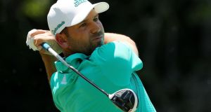 Sergio Garcia shot an opening round of 63 in Texas. Photograph: Getty