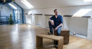 Cillian Ó Súilleabháin, award winning Irish furniture designer and maker. Photographs: Brenda Fitzsimons