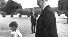 The Times We Lived In: Ladies first as little princess leads the way at the Áras