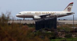 Etihad says the couple arrived late to board, so the airline was not obliged to refund them. Photograph: Hasan Mroue/AFP/Getty Images