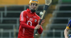 Darren Sweetnam  playing for Cork in the national hurling league. Photograph: Donall Farmer/Inpho