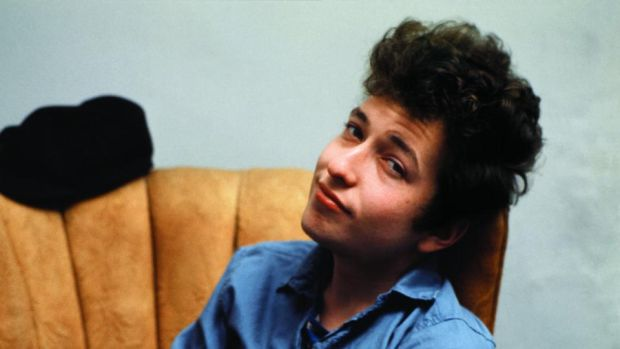 Shape shifter: Bob Dylan in 1963, before the release of the album Freewheelin' Bob Dylan. Photograph: Sony Music