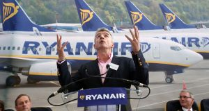 Taking off:  Ryanair chief executive Michael O'Leary.