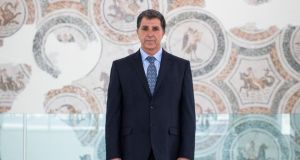 Bardo massacre: Moncef Ben Moussa, the museum's director. Photograph: Emeric Fohlen/NurPhoto via Getty
