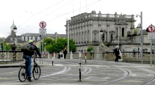 Changing lanes: Dublin's cyclists to take different path