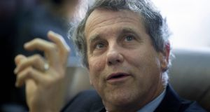 Senator Sherrod Brown, a Democrat from Ohio: name has been mentioned as possible Clinton VP. Photograph: Andrew Harrer/Bloomberg via Getty Images