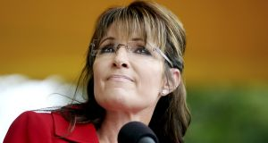 Former Alaska governor Sarah Palin: in the frame as a possible number two for Trump. Photograph: Cheryl Senter/New York Times