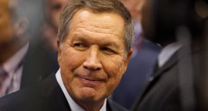 Republican governor John Kasich of Ohio: may have been alienated by Trump in a brutal primary. Photograph: Rick Wilking/Reuters